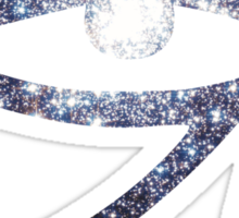 Illuminati Eye Cluster Galaxy | New Illuminati Sticker