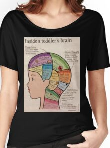 Inside A Toddlers Brain Women's Relaxed Fit T-Shirt