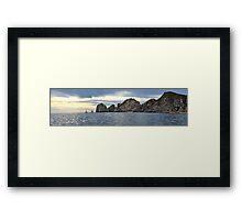Cabo San Lucas Panorama Framed Print