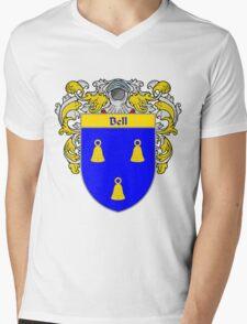 Bell Coat of Arms/Family Crest Mens V-Neck T-Shirt