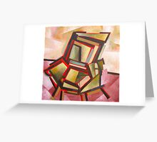 Chair Greeting Card