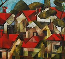 Houses and Trees by D.M Ross