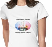 Rainbow Warrior Womens Fitted T-Shirt