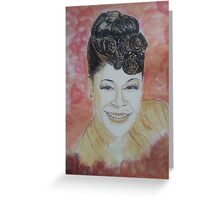 Ella Fitzgerald Greeting Card