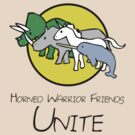 Horned Warrior Friends UNITE! by jezkemp