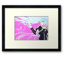 Aria On The Planetes IA Framed Print