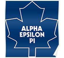 AEPi Toronto Maple Leafs Poster