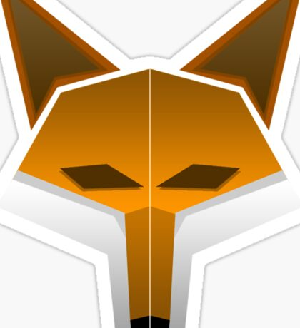 JordanTheFox- Fox Head Sticker