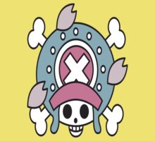 Chopper's Jolly Roger Post Time Skip One Piece - Short Sleeve