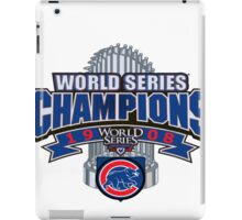 Chicago Cubs World Series iPad Case/Skin
