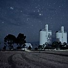 Melrose Silos by Floodlight by pablosvista2
