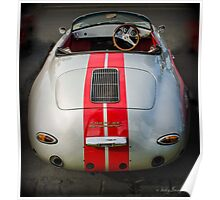 Porsche Speedster - Geelong revival speed trials 2013 Poster