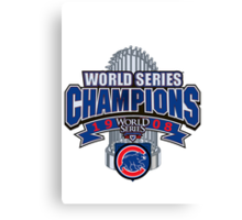 Chicago Cubs World Series Canvas Print