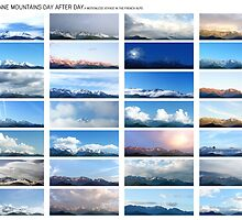Belledonne day after day, a motionless voyage (white version) by Eric Tchijakoff
