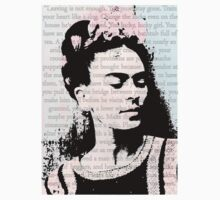 Frida Kahlo Typography 2 Quotes by VampicaX