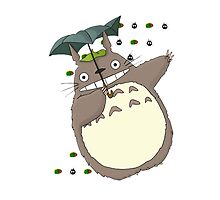 Totoro Umbrella by Chango