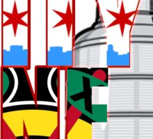 One City One Goal Sticker
