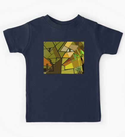 Nature V/s Industrial Revolution  Kids Tee
