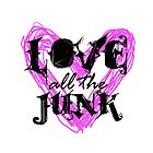 Love all the Junk- Pansexuality Tee by ChantelCarnage