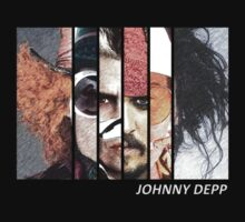 Johnny Depp Characters by 525Kiba