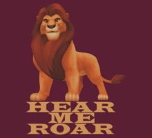 Hear me roar by Kirdinn