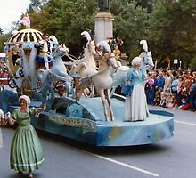 No 8 Cinderella and Coach Christmas Pageant Adelaide 1980's by Heather Dart