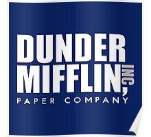 Dunder Mifflin Logo Poster
