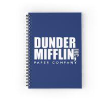 Dunder Mifflin Logo Spiral Notebook