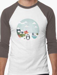 South Pole Men's Baseball ¾ T-Shirt