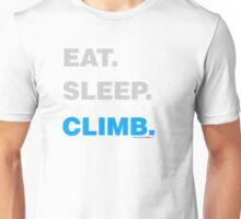 Eat Sleep Climb Unisex T-Shirt