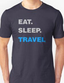 Eat Sleep Travel Unisex T-Shirt