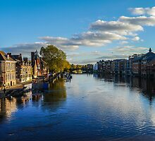 River Ouse, York, UK by ADayToRemember
