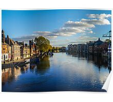 River Ouse, York, UK Poster