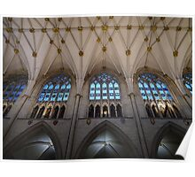 Inside York Minster Poster