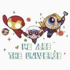 Tony x Cap x Thor by irosyan