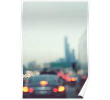 Chicago Lights Poster