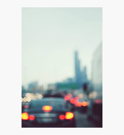 Chicago Lights Photographic Print