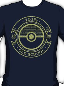 151% Old School T-Shirt