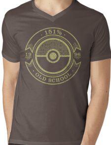 151% Old School Mens V-Neck T-Shirt