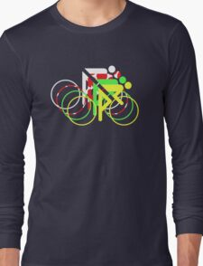Riders Tour de France Jerseys  Long Sleeve T-Shirt