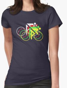Riders Tour de France Jerseys  Womens Fitted T-Shirt