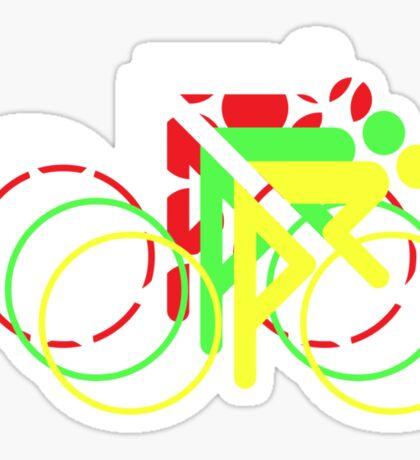 Riders Tour de France Jerseys  Sticker