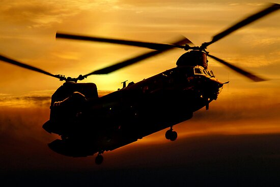 RAF Chinook by J Biggadike