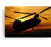 RAF Chinook Canvas Print