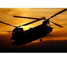 RAF Chinook Photographic Print