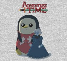 Ice King & Gunter (Spirited Away style) by rohankz