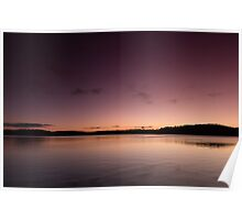 Lake Lanier Sunrise I Poster