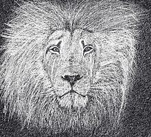 The King Of The Jungle - Graphite Pencil by MJ-Tibor