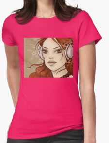 Star Music Womens Fitted T-Shirt