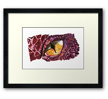 King under the Mountain Framed Print